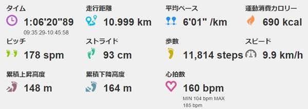マラソンのポイント練習頻度は週2回 ※足がパンパンになったし